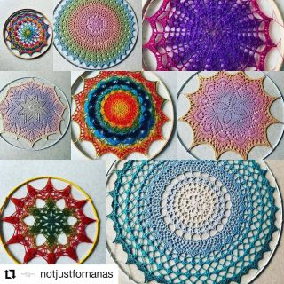 PLEASE READ !!!  #Repost from @notjustfornanas • • • • • • Hungerford  A while ago I donated some of my mandalas to @jadesmandalaproject I also made some up using some yarn kindly donated by @crochet_uk.couk. The mandalas were to decorate Jades sensory room ceiling and lots of instagrammers got involved and helped to make up a wonderful collection. Sadly Jade isn't doing so well and is no longer able to use her sensory room. She is having end of life care provided by Mary Ann Roberts hospice and to raise some much needed funds for them Sonya is going to sell off some of the mandalas. The pictured ones are mine and will be available from Sonya at @jadesmandalaproject so if you would like a mandala and to do something amazing to support a charity that are making a huge difference then please get in touch. I'll put individual photos in my stories.   #notjustfornanas #jadesmandalaproject #mandala #crochetmandala #goodcause #dosomethinggoodtoday #makeadifference #fundraising #crochetersofinstagram #mandalaslovers